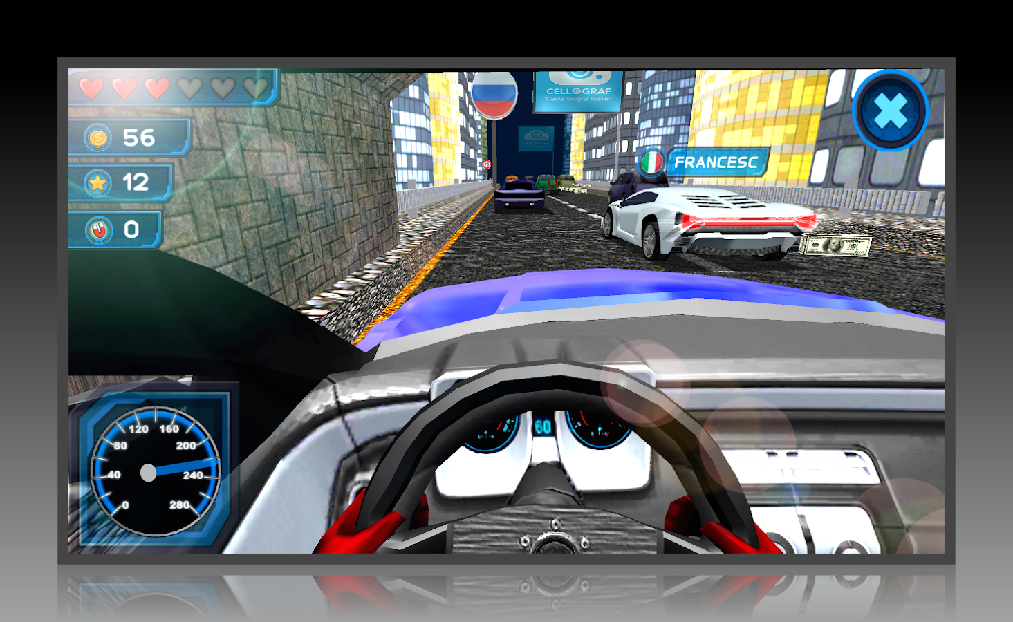 Design car online game