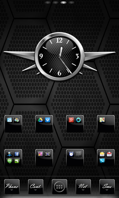 Black Gloss Multi Theme- screenshot