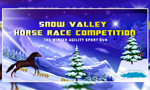 Snow Valley Horse Race