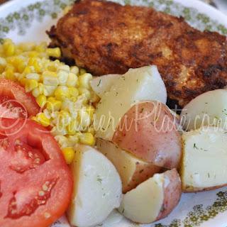 Butter Dill New Potatoes