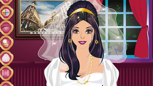 美丽的婚礼化妆游戏