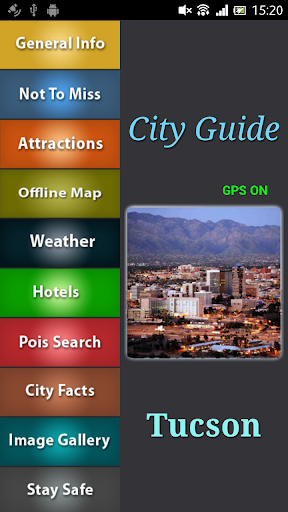 Tucson Offline Travel Guide