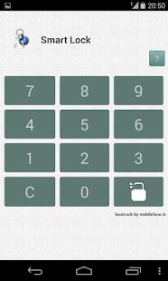 Smart faceLock App Lock