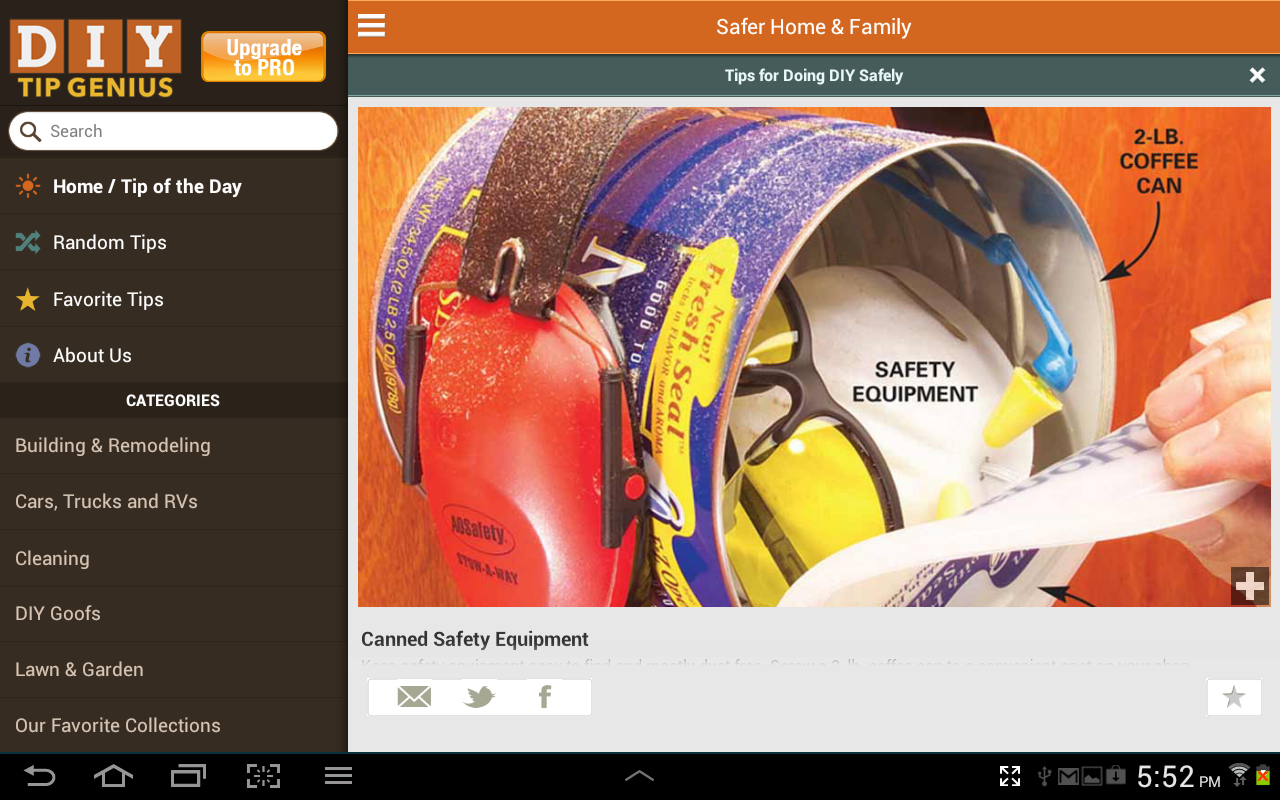 Family Handyman DIY Tip Genius - screenshot