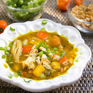 JAMAICAN CURRIED CHICKEN STEW with RUM and MANGO