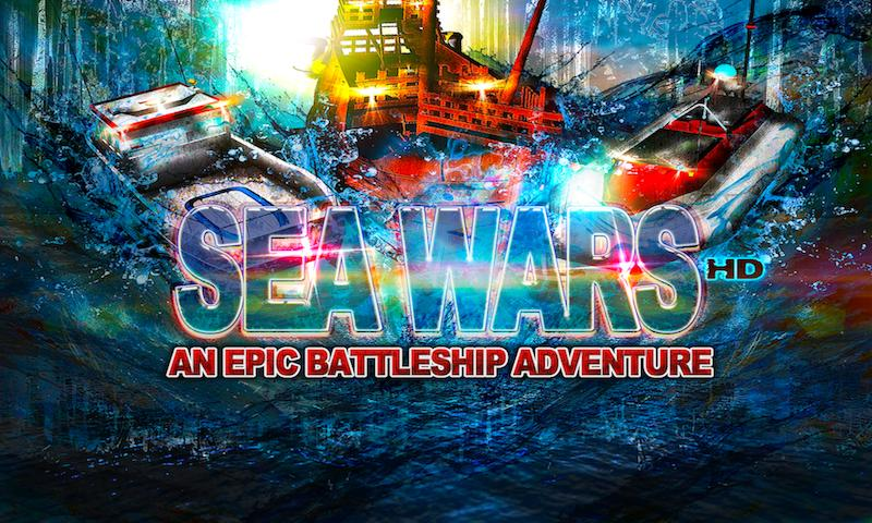SEA WARS Epic Battleship Game - screenshot