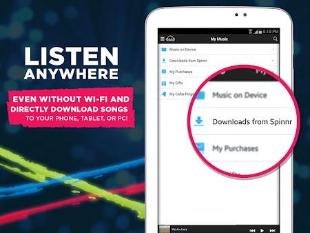 Spinnr Music 3.1.1 screenshot 237583