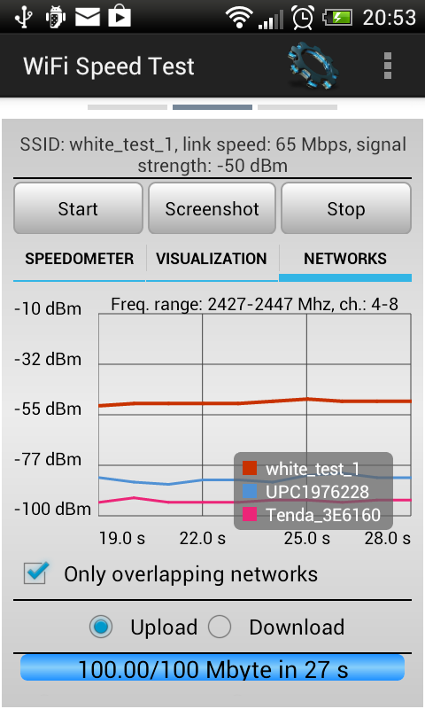 WiFi Speed Test- screenshot