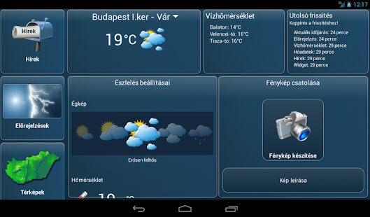Időkép - screenshot thumbnail