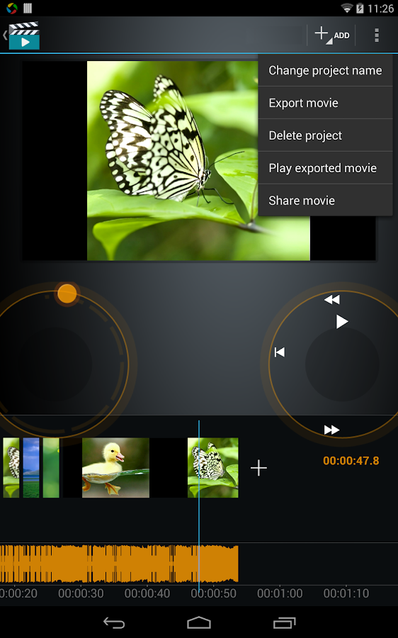 Video Maker Movie Editor- screenshot