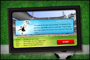 Screenshot of Football Team Manager
