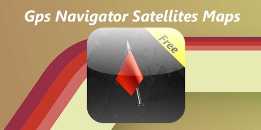 Gps Navigator Satellites Maps