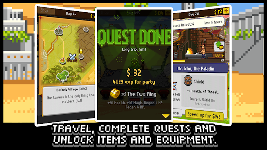 Knights of Pen & Paper +1 Mod Money 2.30 APK