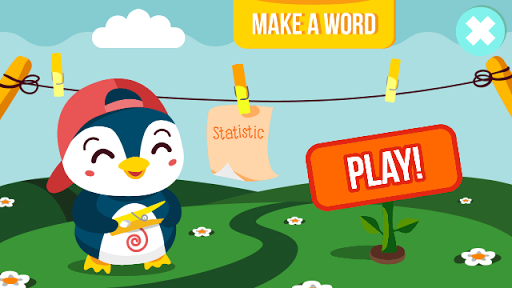 Make words spelling bee game