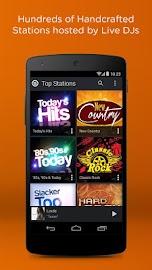 Slacker Radio Screenshot 2