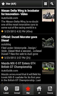 Cars News- screenshot thumbnail