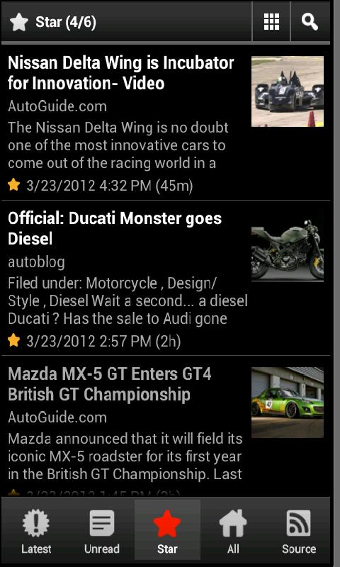 Cars News- screenshot