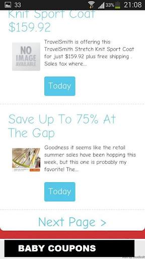 玩免費購物APP 下載Baby Coupons app不用錢 硬是要APP