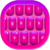 Keyboard Color Hot Pink