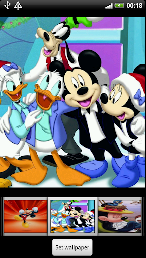 Mickey Mouse Live Wallpaper