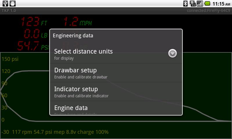 TKP Indicator/Drawbar- screenshot