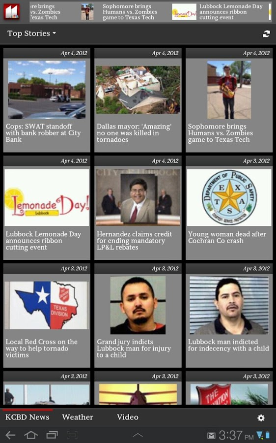 KCBD News 11 For Tablets - screenshot