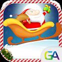 Santa Sleigh Rider icon