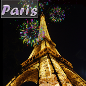 Paris Fire Works LiveWallpaper