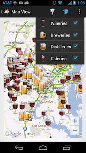 theCompass Alcohol Locator - screenshot thumbnail
