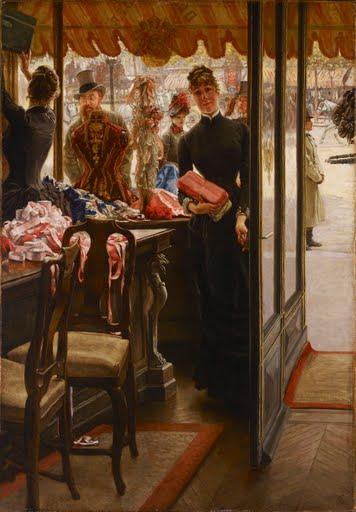 La demoiselle de magasin - James Tissot - Google Arts & Culture
