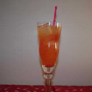 Fresh Orange-Berry Cocktail