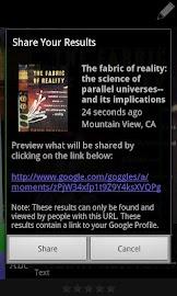 Google Goggles Screenshot 6