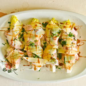 Endive with Ham and Cheese