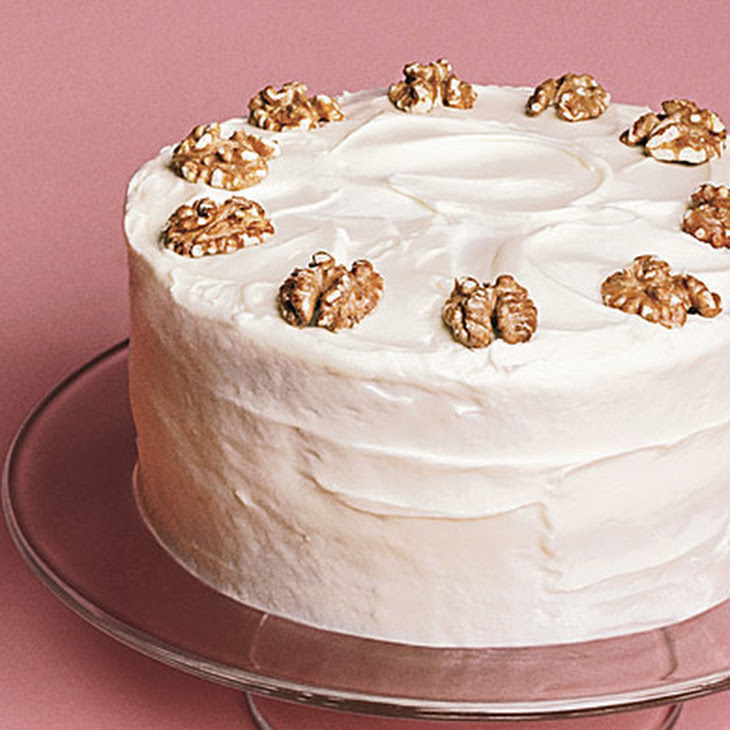 Maple Cake with Maple Syrup Frosting Recipe