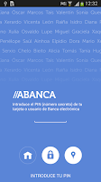 Screenshot of ABANCA