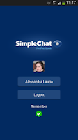 Screenshot of SimpleChat for Facebook (ads)