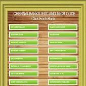 Chennai Banks IFSC Codes List