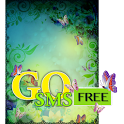 Floral n Butterfly Theme GOSMS icon