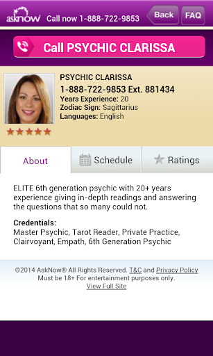 Psychic Reading Finder
