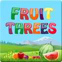 Fruit Threes icon