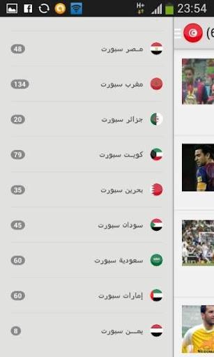 جديد الرياضة العربية والعالمية