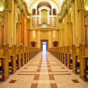 The church Entrance by Vikram Mehta - Buildings & Architecture Places of Worship ( god, church, bright, colorful, beautiful, architecture, worship, lights, details, peace, symmetry, place, internal, , building, interior )