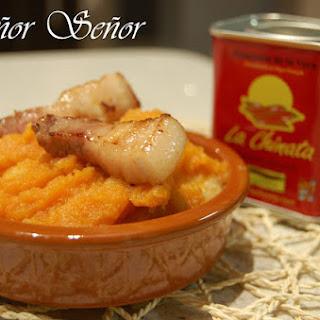 Patatas Revolconas (Spanish Mashed Potatoes).