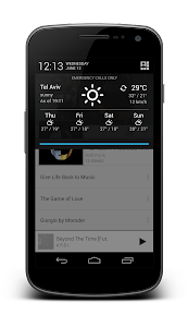 Notification Weather Premium v2.5.5