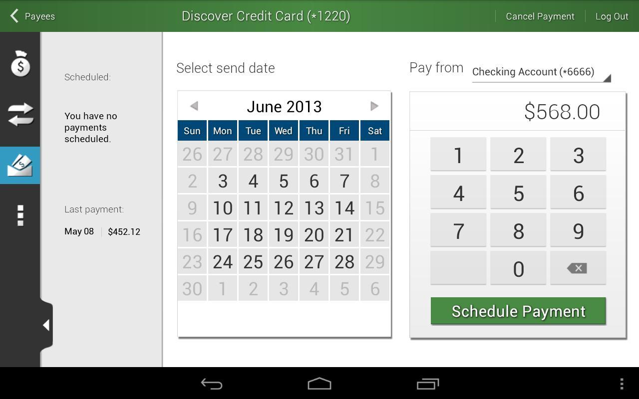 FBFCU Mobile Banking - screenshot