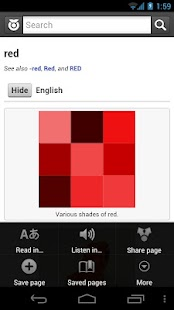 Wiktionary - screenshot thumbnail