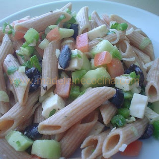 Pasta Salad with Vegetables.