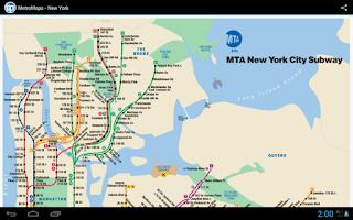 Screenshot of MetroMaps, 100+ subway maps