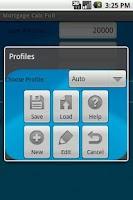 Screenshot of Mortgage Calculator Full