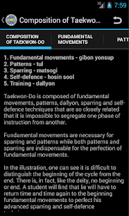Taekwon-Do ITF Theory- screenshot thumbnail